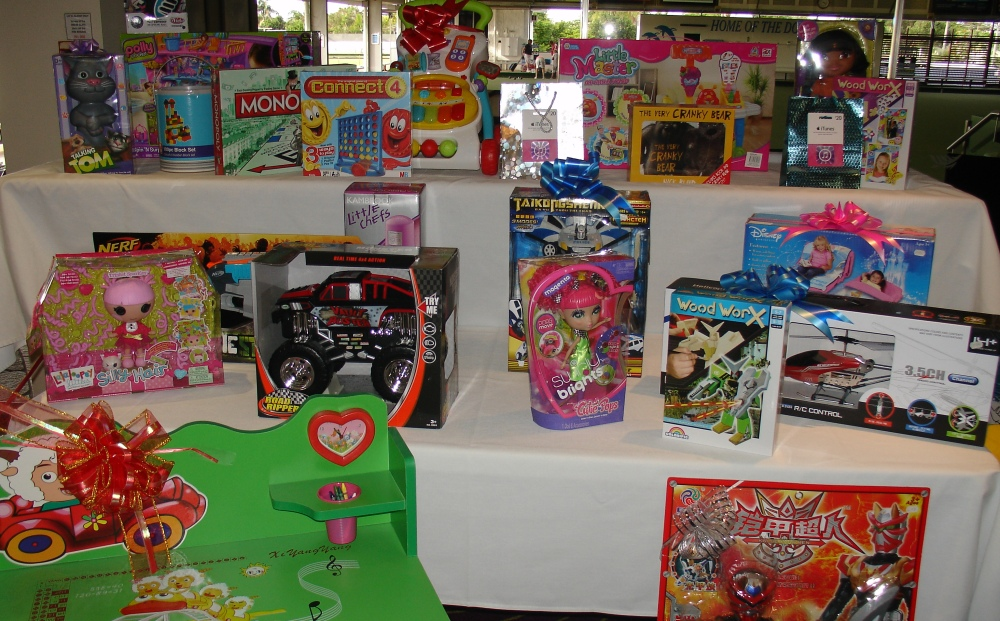 Toy Raffle Prizes : Christmas toy raffle paradise point bowls