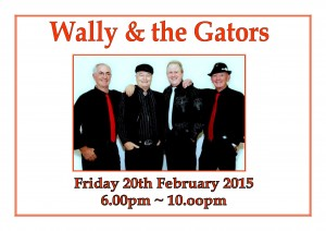 Friday Entertainment – Wally & The Gators
