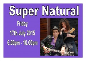 Friday 17th July – Entertainment by Super Natural